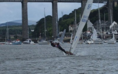 Combined dinghy racing 170916