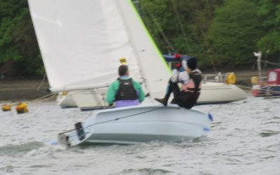 Dinghy racing 090518